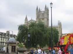 Bath Abbey in Bath, Somerset