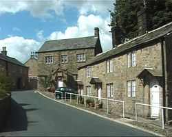 Chipping, Lancashire. Brabbins school and alms houses