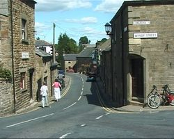 Chipping, Lancashire. Village centre