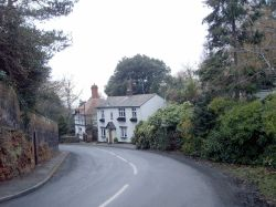 A long winding road in Lower Heswall, the area has remained unchanged for around 100 years.