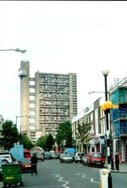 London - Notting Hill, Westbourne Park Road, May 2002