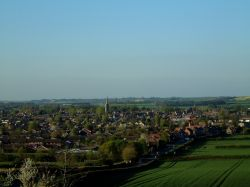Oakham, Rutland - view from Brooke Hill