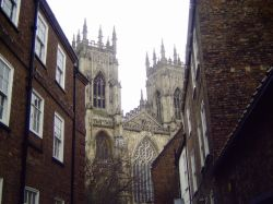 The Minster from Precentor's Court  January 2006