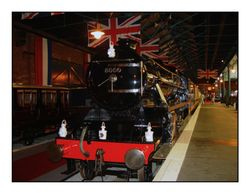 National Railway Museum in York, Yorkshire. The largest railway museum in the world