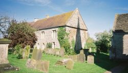 Graveyard of St. Andrews church, Ashleworth, Gloucestershire