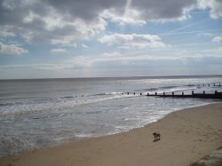 Frinton Beach. Frinton on Sea, Essex