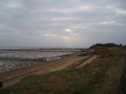 Beach at West Mersea, Essex