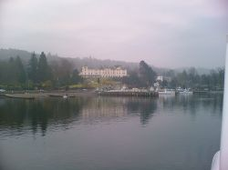 Lake Windemere. Bowness. 04 Feb 2006