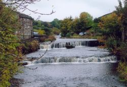 The waterfalls at Gayle, North Yorkshire