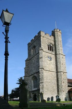 The Tower of St. Clements Church, Leigh-on-Sea, Essex