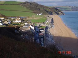 Beesands, Devon. From costal path