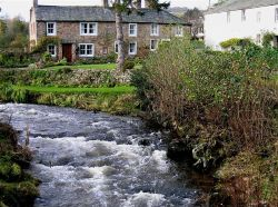 The pretty village of Caldbeck in Cumbria.  Taken Nov 05 using Canon Powershot S50
