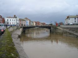 The Town Bridge, Bridgwater, Somerset