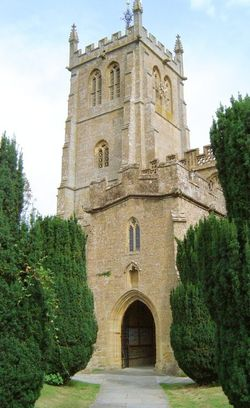 The Parish Church at Martock, Somerset