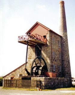 Cornish Beam Engine, Pool, Cornwall - National Trust