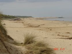 Caister, Norfolk. Looking toward Hemsby