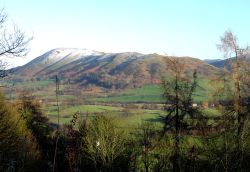 View of Caradoc, Church Stretton, Shropshire.