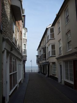 A Short walk to the Sea, Jetty Street, Cromer, Norfolk