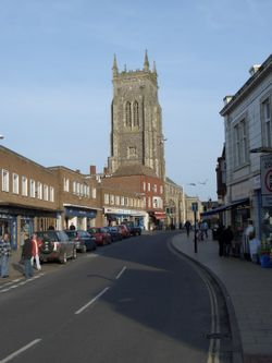 Church St. in Cromer, Norfolk