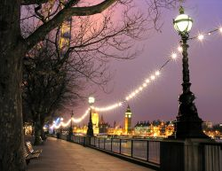 Embankment and London Eye, London