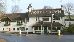 The Rose & Crown at Smalley Crossroads, Smalley,  Derbyshire