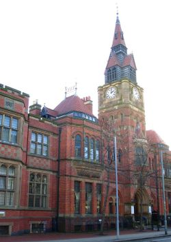 Derby museum and Art Gallery, the Wardwick, Derby.