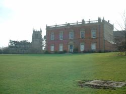 Staunton harold hall & Church, Leicestershire