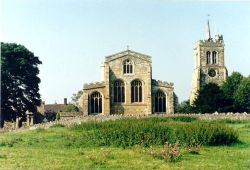 Elstow Abbey Church. Elstow, Bedfordshire