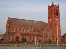 Saint Pauls Church, Widnes Town Centre. - Widnes. Cheshire