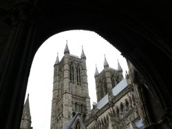 Lincoln Cathedral  West towers