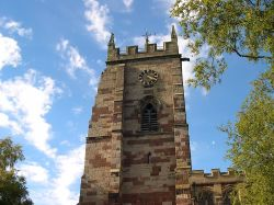 St. Mary's Church in Market Drayton, Shropshire.