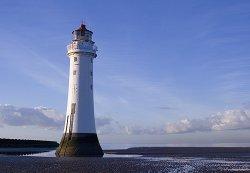 Perch Rock Lighthouse, New Brighton, Wiral, Merseyside