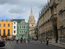 Oriel Square, Oxford