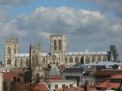 A picture of York Minster