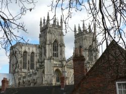 York Minster  from City Walls