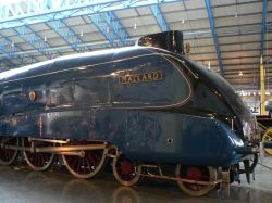 'Mallard' at The National Railway Museum, York
