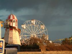 Adventure Island on the seafront at Southend, Essex. Boxing Day '05