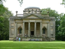 Gibside Chapel, National trust garden - Rowlands Gill, Burnopfield, Newcastle upon Tyne NE16 6BG