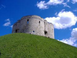 Cliffords Tower, York, North Yorkshire.