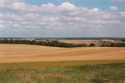 View from Badbury Rings, Near Wimborne, Dorset
