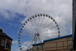 The Yorkshire Wheel in York. April 2006