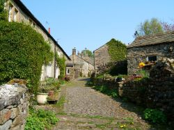 A street in Grassington, Yorkshire Dales