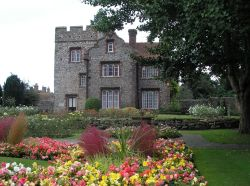 This is taken in the gardens outside the city walls in Canterbury, Kent in Sept. of 2005