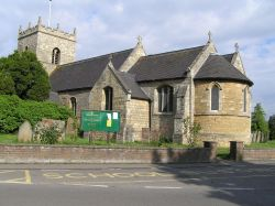 All Saints Parish Church, Swinderby, Lincs