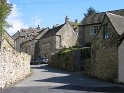 Bisley, Gloucestershire. The Cotswolds