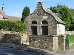 Two cell jail, Bisley, in the Gloucestershire Cotswolds