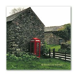 Call Box in Patterdale, Lake District, County Cumbria, England