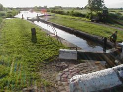 Trent and Mersey canal, Alrewas, Staffordshire.