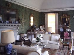 A room in the Bentley Manor House.