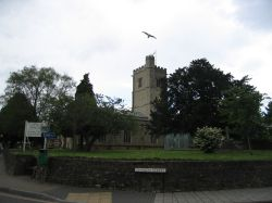 Church at Axminster, Devon
